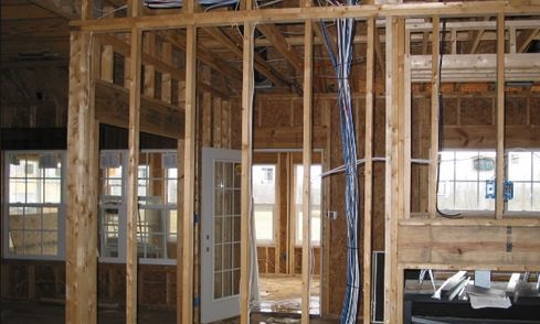 Palmetto Residential Electric new home residential wiring project